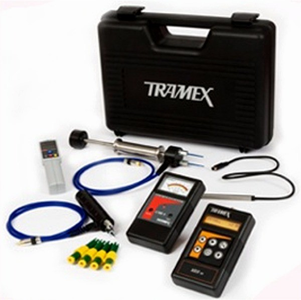 Tramex moisture meters and humidity detectors as used after water / flood damage by FutureRestore Fire & Flood Restorations, Co. Donegal,  Ireland